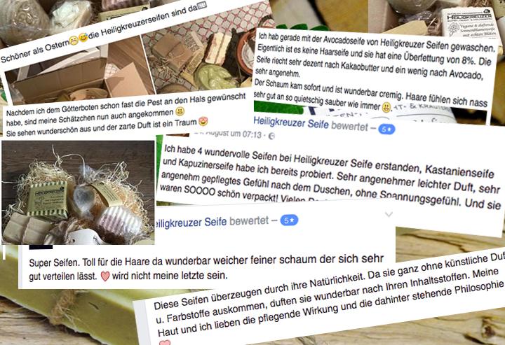 Heiligkreuzer Seifen im Test: Bewertungen und Kommentare von Nutzerinnen und Nutzern.