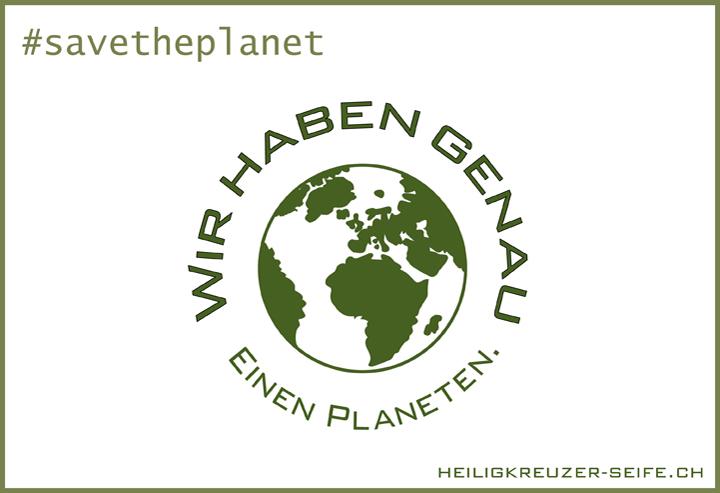 Wir haben genau einen Planeten.