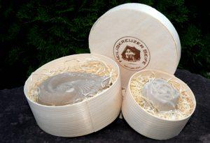 Auch als Geschenk verpackt in der Spandose auf Holzwoller erhältlich.