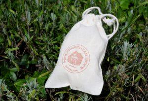Einfach, wiederverwendbar oder kompostierbar: Seifensäckchen aus Baumwolle.