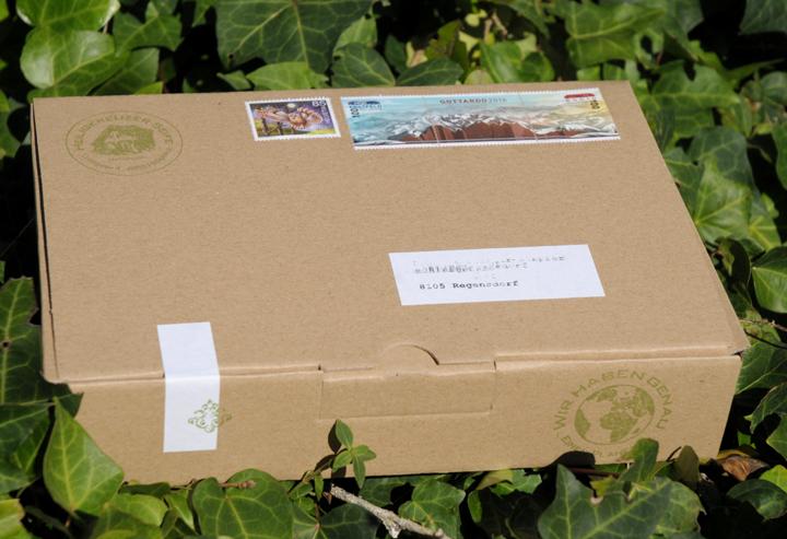 Versandkosten sparen bei kleinen Bestellungen: Bis 170 Gramm per A-Post-Brief für drei Franken.