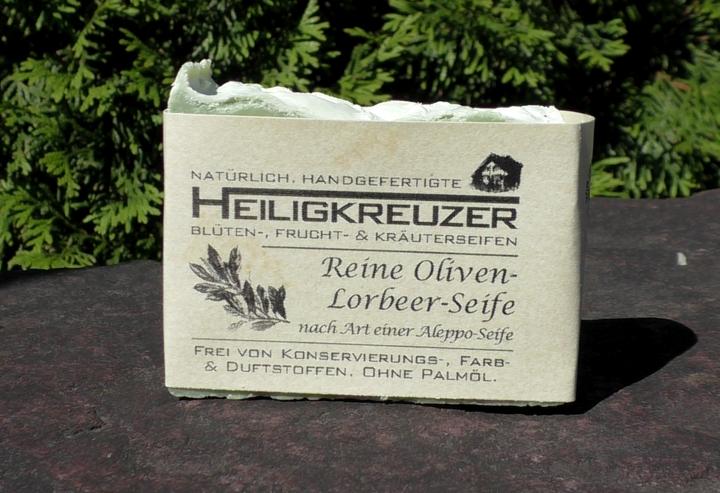Reine Oliven-Lorbeer-Seife