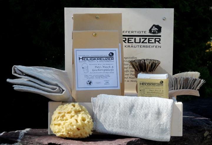 So geht plastikfrei und optional auch vegan Waschen, Putzen und Geschirrspülen mit Seife.