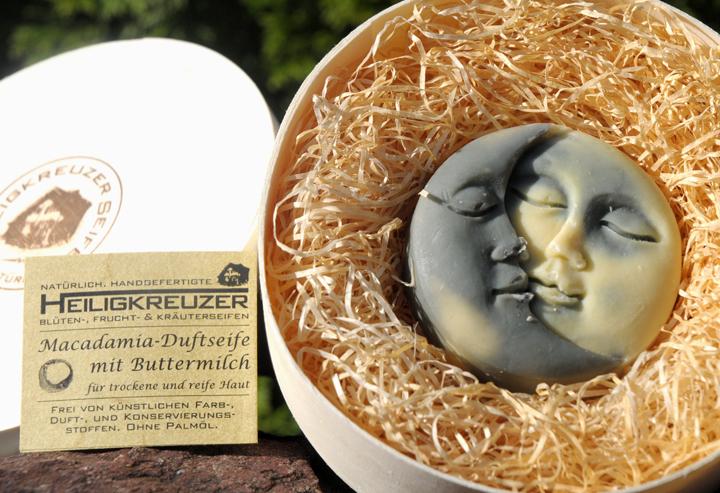 Macadamiaseife mit Buttermilch. Einzelstück #202.