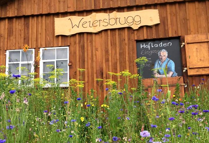 In Appenzell bietet der Hofladen Weiersbrugg eine kleine Auswahl Heiligkreuzer Seifen.